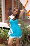 Mallika Kapoor Blue Dress Photoshoot Foto 7 ( Фото 7)