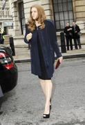 Amy Adams Arriving at the Corinthia Hotel in London 12-02-2011