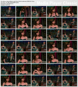 Alexis Bledel - The Late Show with David Letterman - 4-19-2006