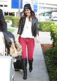 Виктория Джастис, фото 2330. Victoria Justice - Boots & Snug Plaid Jeans at LAX airport in Los Angeles on February 25, foto 2330