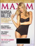 Marisa Miller show off her body in lingerie photoshoot for Maxim magazine
